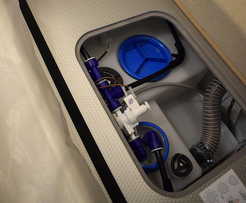 hivernage camping car réservoir eau