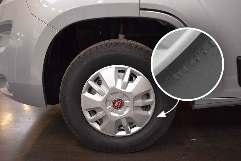 hivernage camping car pneus