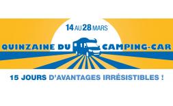 La Quinzaine du camping-car chez Starterre Lyon du 14 au 28 Mars 2020
