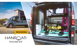 Explorez de nouveaux horizons avec la gamme van aménagé Hanroad Trek !